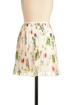 Artist's Specimen Skirt