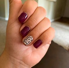 Sassy combo for sure perfect for fall! Nail Color Combos, Nail Color Trends, Toe Nail Color, Gel Nail Colors, Color Street Nails, Cute Gel Nails, Love Nails, How To Do Nails, Pretty Nails