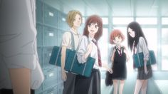 """Ao Haru Ride - """"Even if Kou is still walking in the darkness, we'll become signs... showing him the way out."""" (Futaba)"""