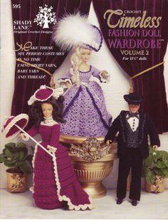 23. Barbie fashion doll dress crochet pattern in pdf by Vandihand