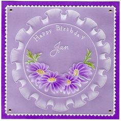 Happy Birthday Parchment Cards, Handmade Stamps, Embossed Cards, Handmade Birthday Cards, Paper Cards, Hobbies And Crafts, Gift Tags, Christmas Cards, Projects To Try