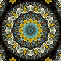 FLOR FRACTAL by Marcelo Dalla 2, via Flickr