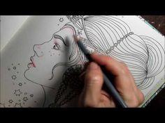 Daydreams   Hanna Karlzon   Colorindo rosto como Emmi Julin - YouTube