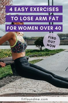 Our arms are among the places on our bodies as women over 40 that if not properly maintained, will surely make us feel our age and then some. Learn 4 easy exercises to lost arm fat in this article. Lose Fat Workout, Best Cardio Workout, Pilates Workout, Easy Workouts, Beginner Workouts, Pop Pilates, Pilates Video, Pilates For Beginners, Beginner Pilates
