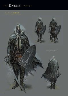 Dark Souls 3 artbook - Imgur Dark Fantasy, Medieval Fantasy, Medieval Armor, Dark Souls 2, Dark Souls Armor, Dark Souls Characters, Fantasy Characters, Game Concept Art, Armor Concept