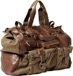 brown leather sports bag - Buscar con Google