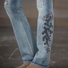 KELLY STRAWBERRY BLOSSOM JEANS: View 4