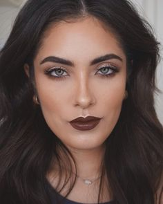 Melissa Alatorre wearing Nyx High Voltage Lipstick in Dirty Talk. I seriously think she is one the most beautiful women I have ever seen.
