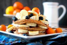 Vegan Elvis Pancakes