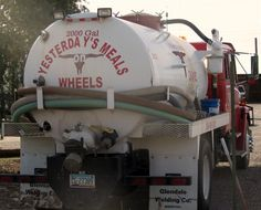 Septic Truck: Yesterday's Meals on Wheels