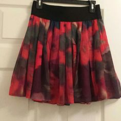 Express mini skirt Floral mini skirt Express Skirts Mini