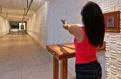 Donald Abbey's Underground Shooting Range