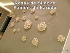 Painéis de Parede - Rosas de Simone