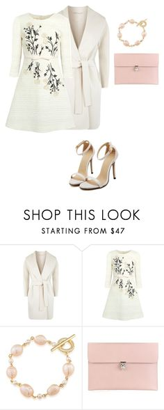 """Untitled #22"" by anahireyna ❤ liked on Polyvore featuring MaxMara, Giambattista Valli, Carolee and Alexander McQueen"