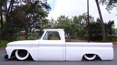 C10 lowered! Awesome all white!
