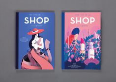An international luxury shopping and travel guide published by Global Blue designed by S-T