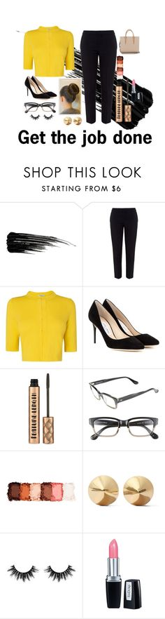 """Margaret"" by sam-goodie22 ❤ liked on Polyvore featuring Urban Decay, Chloé, L.K.Bennett, Jimmy Choo, Corinne McCormack, NYX, Eddie Borgo, Isadora and Christian Louboutin"