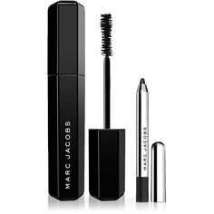 Marc Jacobs Beauty Velvet Noir Mascara and Highliner Gel Crayon Set (530 MXN) ❤ liked on Polyvore featuring beauty products, makeup, eye makeup, mascara, marc jacobs, marc jacobs cosmetics, marc jacobs makeup and eye pencil makeup