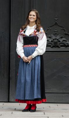 The Local: Princess Madeleine in traditional folk dress, National Day, 2012