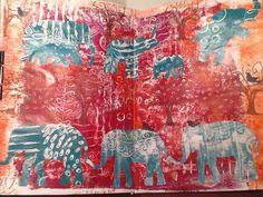 Art Journal Pages, Medium Art, Mixed Media Art, My Arts, Painting, Painting Art, Mixed Media, Paintings, Painted Canvas