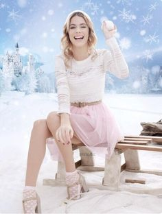 Martina Stoessel photoshoot winter ❄ ⛄   ❄ ⛄  ☑