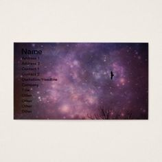 Eagle Space Business Card  $29.05  by businesscardsforyou  - cyo customize personalize diy idea