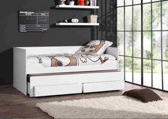 dwuosobowe łóżko dziecięce Robin z wstawką http://dladziecka-net.pl/