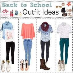 Back To School Outfits Polyvore 2013