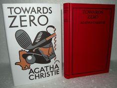 Agatha Christie -Towards Zero- Facsimile Edition, Towards Zero, Agatha Christie, Book Collection, Novels, Learning, Books, Ebay, Vintage, Libros