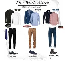 The work attire. Which style suits you? Gentleman Mode, Gentleman Style, Fashion Moda, Mens Fashion, Fashion Outfits, Fashion Tips, Look Formal, Look 2018, La Mode Masculine