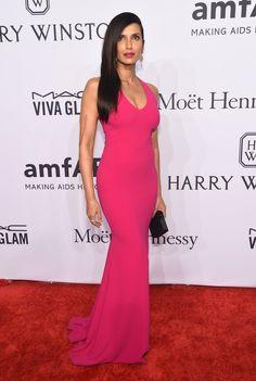 Pin for Later: Vos Célébrités Favorites Ont Porté les Robes les Plus Sexy de L'année au Gala de L'amfAR Padma Lakshmi