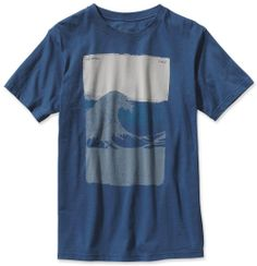 PATAGONIA SAVE THE WAVES FLAG S/S TEE at www.hobiesurfshop.com