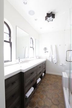 Hillsborough Spanish Influence - contemporary - bathroom - san francisco - Allwood Construction Inc