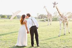 Giraffe Safari wedding by Kay English Photography NJ wedding photographer