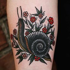 I like the shell and flowers, not necessarily the snail it's self