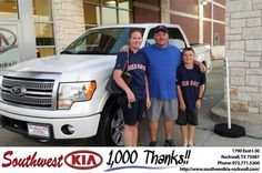https://flic.kr/p/GAJLQU | Congratulations Robert on your #Ford #F-150 from Chris Johnson at Southwest KIA Rockwall! | deliverymaxx.com/DealerReviews.aspx?DealerCode=TYEE