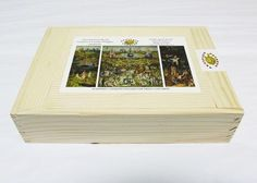 Artifact Puzzles - Bosch Garden of Earthly Delights Wooden Jigsaw Puzzle
