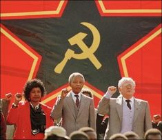 Nelson Mandela: Absence of Apartheid, Presence of African National Congress Communism Rape Genocide Nelson Mandela, Apartheid, Winnie Mandela, African National Congress, Poster Boys, Role Player, Communism, New World Order, Pro Life