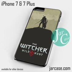The Witcher Game Phone case for iPhone 7 and 7 Plus