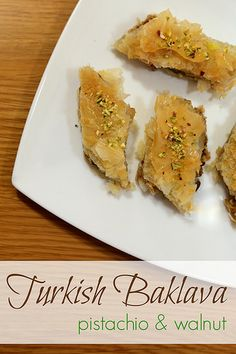 + ideas about Turkish Baklava on Pinterest   Turkish Dessert, Baklava ...