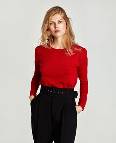 Image 5 of SOFT-FEEL SWEATER from Zara