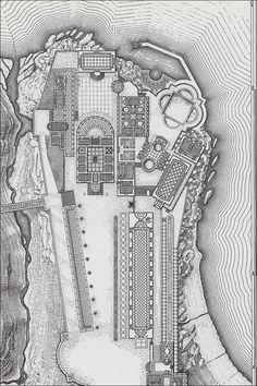 Reconstruction of the Villa Laurentium (1981), Leon Krier