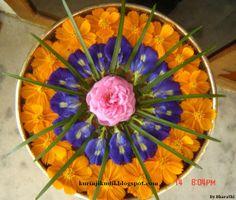 the flower gallery florist - Bing Images Flower Rangoli, Flower Garlands, Flower Mandala, Flower Art, Diwali Decorations, Indian Wedding Decorations, Festival Decorations, Flower Decorations, Rangoli Ideas