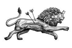 be not afraid - lion tattooScott Erickson Art