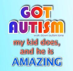 Walk Down Autism Lane / FB