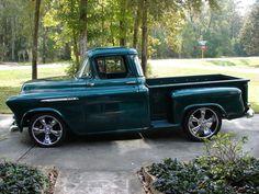 1956 Chevy Show Truck - Me faltaba bastante con la mía para llegar a esto.