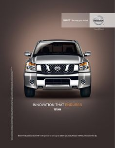 Nissan Titan  | Innovation that Endures http://www.bobrichardsnissan.com/search/search_filter/type/new/model/Titan/