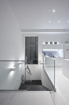 #LED #wall #lights #staircase #bw #downlights #light Downlights, Interior Lighting, Wall Lights, Led, Home, Appliques, Ad Home, Homes, Haus