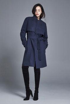 이하늬 코트·스웨터 등 와이앤케이 겨울 컬렉션 론칭...'대체 불가 미모'