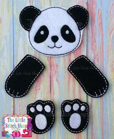 Panda Set Over Sized: The Little Stitch Shop